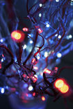 Christmas lights Stock Images