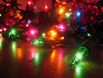Free Christmas Lights Royalty Free Stock Photos - 701058