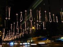 christmas lights Στοκ εικόνα με δικαίωμα ελεύθερης χρήσης