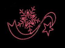 Christmas lights Stock Photography