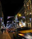 christmas lights Στοκ Εικόνες