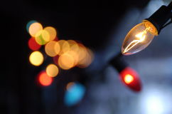 Free Christmas Lights Stock Images - 897114