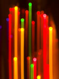 Christmas lights abstract Royalty Free Stock Photo