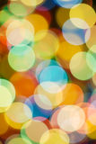 Christmas lights, abstract background Royalty Free Stock Photos