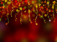 Christmas and new yeay lights abstract holiday background Stock Photo