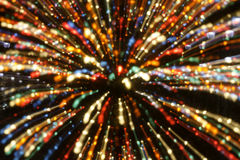 Christmas Lights Abstract Backgrounds Stock Images