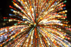 Christmas Lights Abstract Backgrounds Royalty Free Stock Photos
