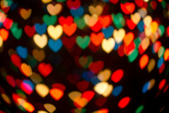 Christmas Lights Abstract Backgrounds Royalty Free Stock Photo