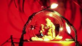 Christmas lights stock video