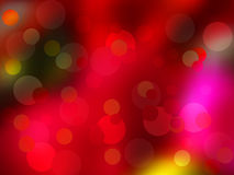 Christmas lights as background. EPS 8 Stock Images