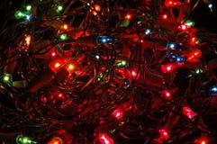 Christmas lights background Royalty Free Stock Image