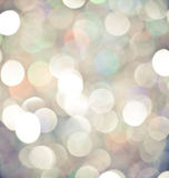 Christmas lights background Stock Images
