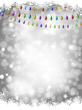 Christmas lights background Stock Photo