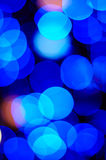 Christmas Lights Background. Out of focus Christmas Lights Background - blue and red Royalty Free Stock Photos