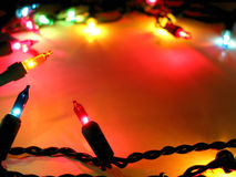 Christmas lights background. Colorful background with Christmas lights Stock Photo