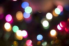 Christmas Lights Background. Colorful out of focus Christmas Lights Background Royalty Free Stock Images