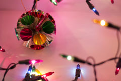 Christmas Lights Background. Colorful out of focus Christmas Lights Background Royalty Free Stock Photography