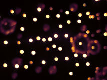 Christmas lights background. Stock Photography