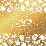 Christmas lights background. Vector design concept Stock Photo