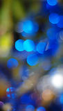 Christmas lights background. Warm-colored Christmas lights blurred background Royalty Free Stock Photo