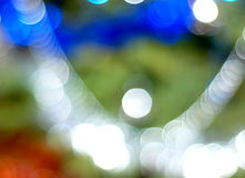 Christmas lights background. Warm-colored Christmas lights blurred background Royalty Free Stock Images