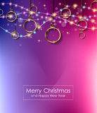 Christmas Lights Background for your seasonal wallpapers, Royalty Free Stock Image
