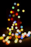 Christmas Lights. Christmas Backgrounds Electric Royalty Free Stock Photography