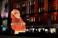 Christmas lights of Berlin Stock Photo