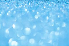 Christmas lights on blue background. Studio shot royalty free stock images