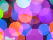 Christmas lights blur Royalty Free Stock Photography