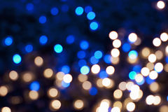 Christmas Lights. Christmas blurred lights. Abstract background Royalty Free Stock Image