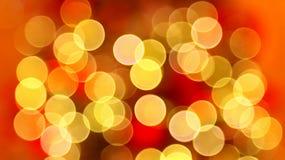 Christmas lights bokeh background Royalty Free Stock Photos