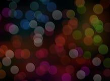 Christmas Lights Bokeh Background Stock Photography