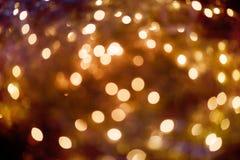 Christmas lights bokeh. Abstract bokeh lights Royalty Free Stock Image
