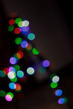 Christmas lights bokeh Royalty Free Stock Image