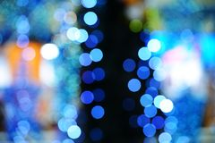 Christmas lights bokeh Royalty Free Stock Photography