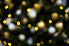 Christmas lights bokeh Royalty Free Stock Photos