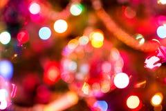 Christmas Lights Bokeh Royalty Free Stock Photos