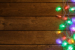 Christmas Lights Border Wood Background Stock Photos - 2,917 Images