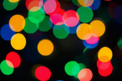 Christmas lights Royalty Free Stock Images