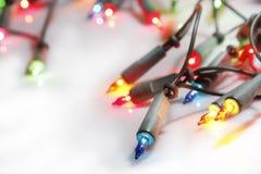 Christmas lights Stock Image