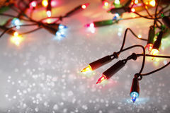 Christmas lights Royalty Free Stock Photo