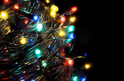 Christmas lights. Stock Photo