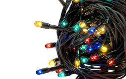 Christmas lights. Royalty Free Stock Photo