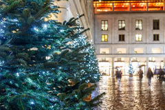 Christmas lights 2016 in Covent Garden, London. England royalty free stock image