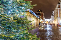 Christmas lights 2016 in Covent Garden, London. England royalty free stock photo