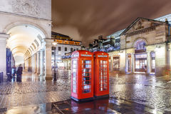 Christmas lights 2016 in Covent Garden, London. England stock photo