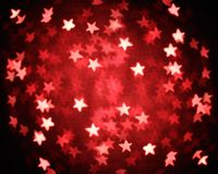 Christmas lights defocus. Glitter of christmas lighting background Royalty Free Stock Photo