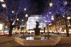 Christmas Lights Display in London Royalty Free Stock Images