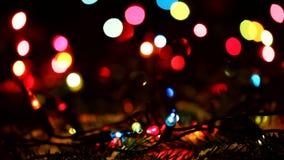 Christmas Lights. stock footage